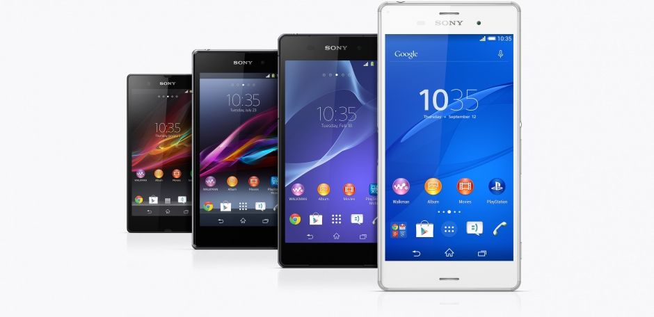 Sony Smartphone Androide update